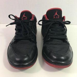 best loved 48c9a 026c9 Nike Air Jordan 1 Retro Black Metallic Silver-SZ 9